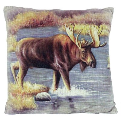 Probolinggo Burlap Throw Pillow