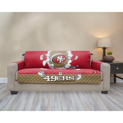 NFL Sofa Slipcover NFL Team: San Francisco 49Ers