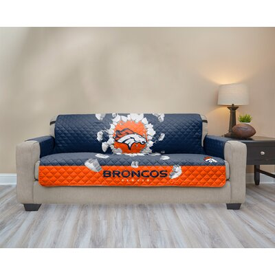 NFL Sofa Slipcover NFL Team: Denver Broncos