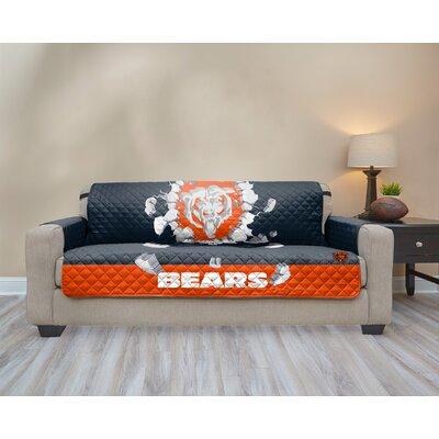 NFL Sofa Slipcover NFL Team: Chicago Bears