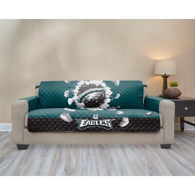 NFL Sofa Slipcover NFL Team: Philadelphia Eagles