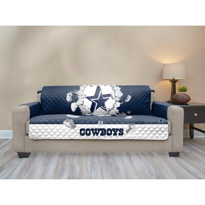 NFL Sofa Slipcover NFL Team: Dallas Cowboys