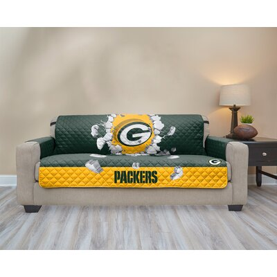 NFL Sofa Slipcover NFL Team: Green Bay Packers