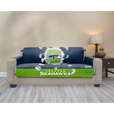 NFL Sofa Slipcover NFL Team: Seattle Seahawks