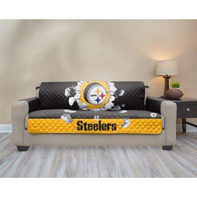 NFL Sofa Slipcover NFL Team: Pittsburgh Steelers
