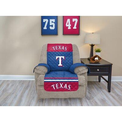 MLB Recliner Slipcover MLB Team: Texas Rangers, Size: Medium