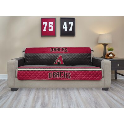 MLB Sofa Slipcover MLB Team: Arizona Diamondbacks, Size: Small