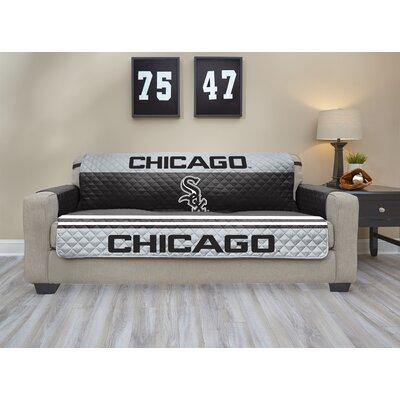 MLB Sofa Slipcover MLB Team: Chicago White Sox, Size: Small