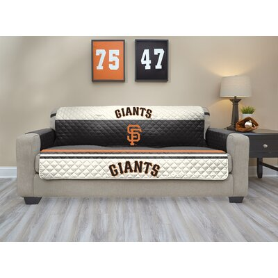 MLB Sofa Slipcover MLB Team: San Francisco Giants, Size: Small