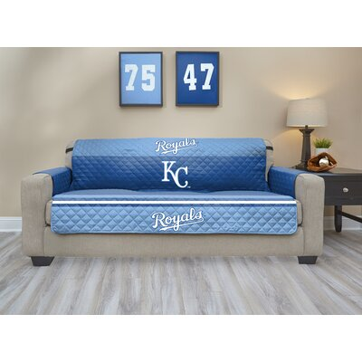 MLB Sofa Slipcover MLB Team: Kansas City� Royals, Size: Small