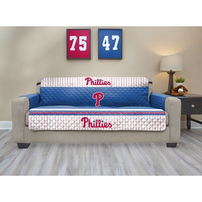 MLB Sofa Slipcover MLB Team: Philadelphia Phillies, Size: Small