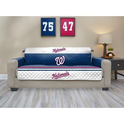 MLB Sofa Slipcover MLB Team: Washington Nationals, Size: Small