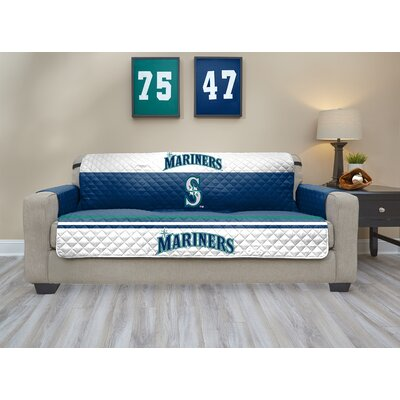 MLB Sofa Slipcover MLB Team: Seattle Mariners, Size: Small