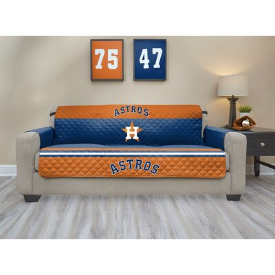 MLB Sofa Slipcover MLB Team: Houston Astros, Size: Small