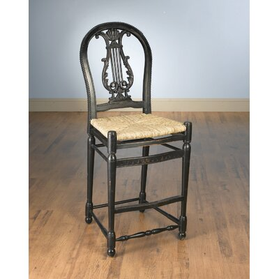Kirksey 30 Bar Stool Color: Black