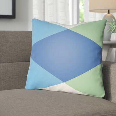 Wakefield Ii Throw Pillow Size: 20 H x 20 W x 5 D, Color: Dark Blue