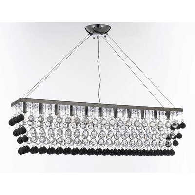 Irvin 11-Light Crystal Pendant