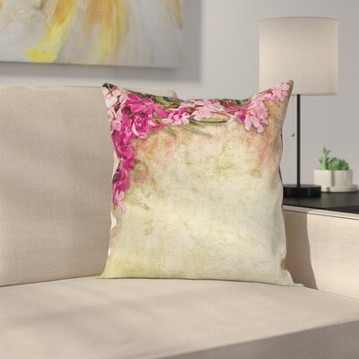 Floral Pillow Cover Size: 18 x 18