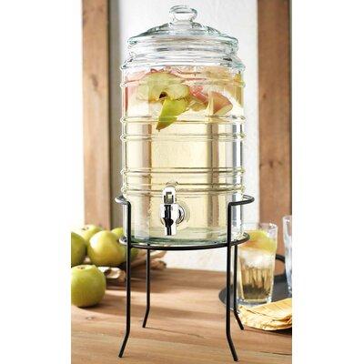Cruse Ribbed 2 Piece Beverage Dispenser Set B5ABEE4E21624E389AFDF7E17C059EE6