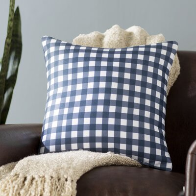 Randall Check Throw Pillow Size: 18 H x 18 W x 5 D