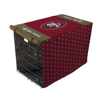NFL Pet Crate Cover NFL Team: San Francisco 49Ers, Size: 48 Crate