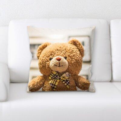 Hicks Teddy Bear Throw Pillow