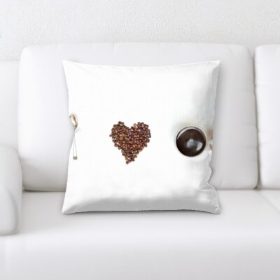 Kuhn I Love Coffee Throw Pillow