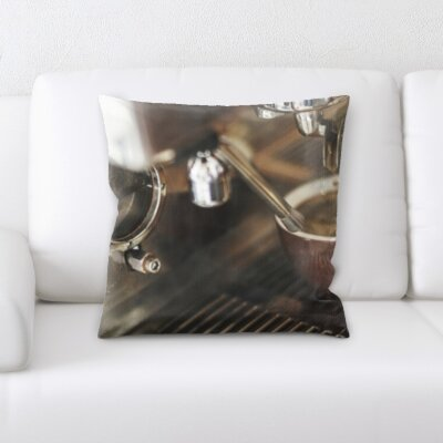 Kujawski Pouring Coffee Throw Pillow