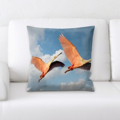 Cirillo Bird Flying Throw Pillow