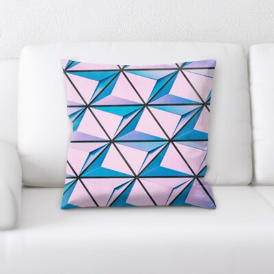 Falk Abstract Textures Throw Pillow