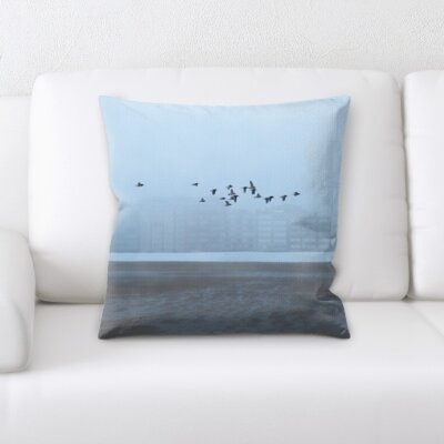 Cirillo Bird Flying Throw Pillow