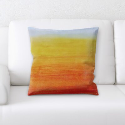 Burnam Abstract Texture Throw Pillow