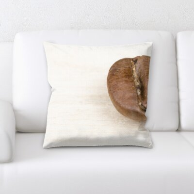 Kunkel Single Coffee Bean Throw Pillow
