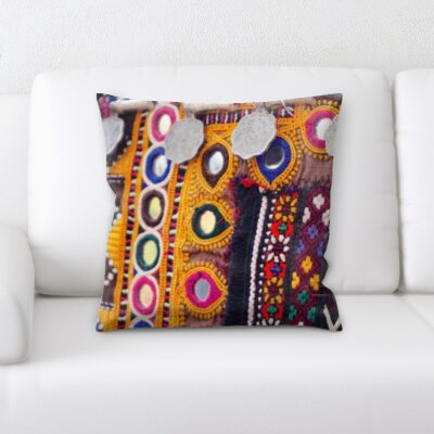 Eaddy Art and Craft Antique Throw Pillow