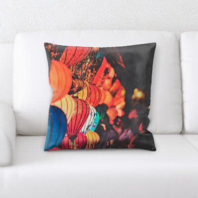 Gurley Balloon Throw Pillow