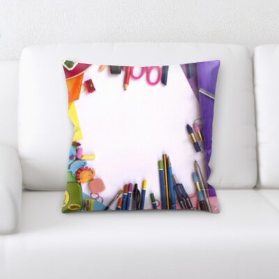 Grondin Art and Craft Tools Throw Pillow