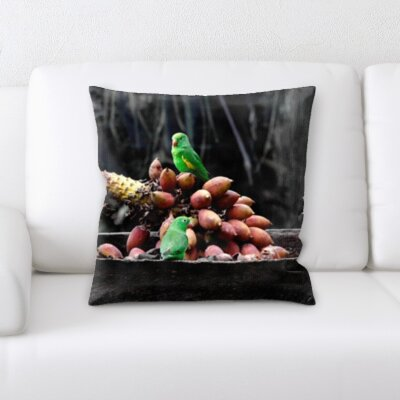 Broadbay Bird Canary Throw Pillow