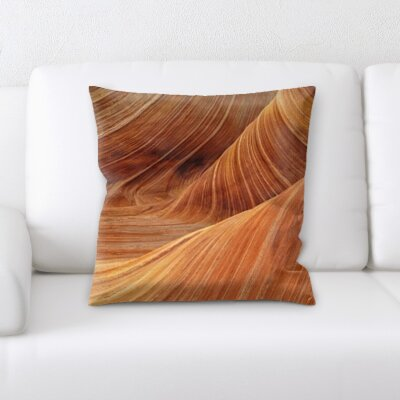 Cave Throw Pillow