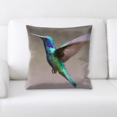 Christenson Hummingbird Throw Pillow