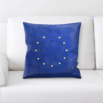 Guardado Europe Flag Throw Pillow