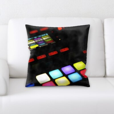 Gurley Dj Set Throw Pillow
