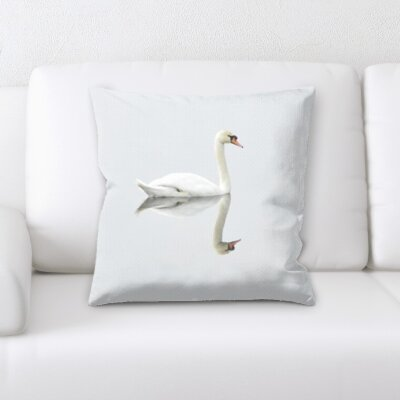Christner Swan Throw Pillow