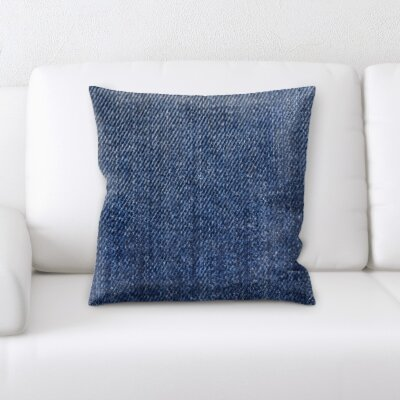 Guerrette Jean Texture Throw Pillow