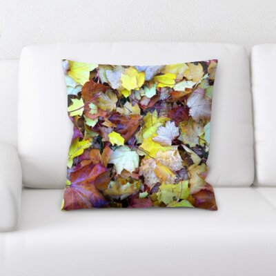 Gurley Leaf Throw Pillow