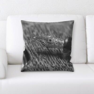 Bacchus Art and Craft Pen Throw Pillow