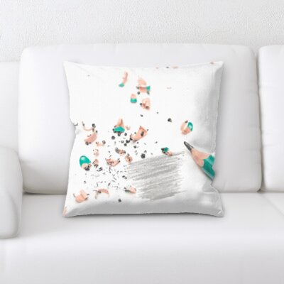 Grondin Art and Craft Pencil Drawing Throw Pillow
