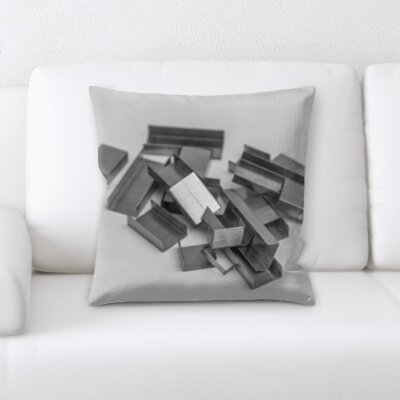 Grondin Art and Craft Staples Throw Pillow
