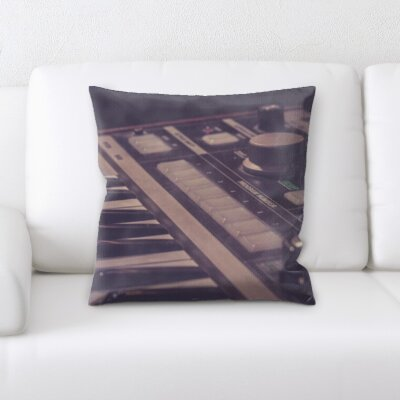 Gurley Synth Throw Pillow
