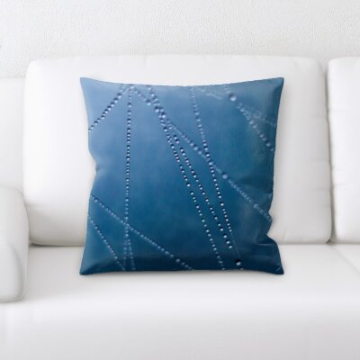 Gurley Water Droplets Throw Pillow