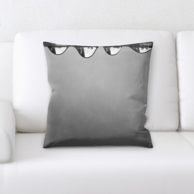 Gurley Water Drops Throw Pillow